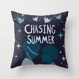 Chasing Summer Throw Pillow