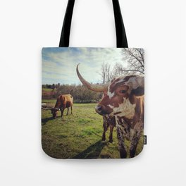 Sheriff and Little Girl Tote Bag