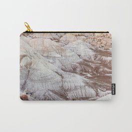 Panoramic landscape of Petrified Forest National Park Carry-All Pouch