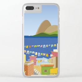 FAVELA IN RIO Clear iPhone Case