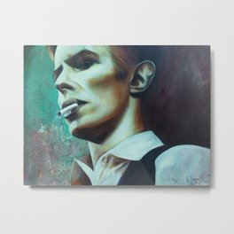 The Thin White Duke Metal Print