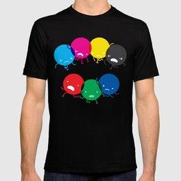 CMYK fights RGB T-shirt