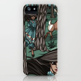 Pine Needles, Laughter iPhone Case