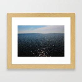 Lake St. Clair Framed Art Print