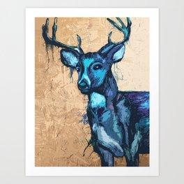 """Deer Reader"". Art Print"