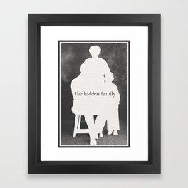 Hidden Family Framed Art Print