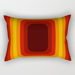 Retro Design 01 Rectangular Pillow