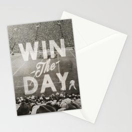 Win the Day Stationery Cards