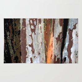 Rustic light wood Rug