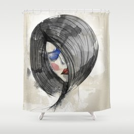 Girlie 02 Shower Curtain