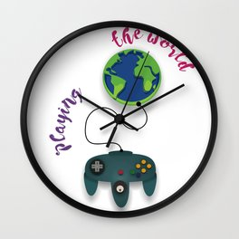 Playing the World Wall Clock