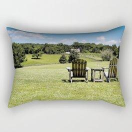 The Farmland Chairs Rectangular Pillow