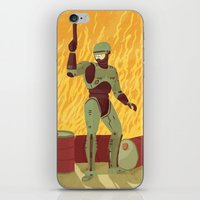 robocop iPhone & iPod Skins featuring Robocop by James White