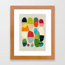 Jagged little pills Framed Art Print