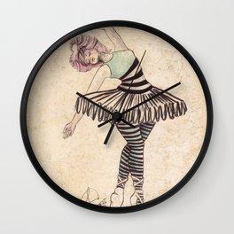 The Ballerina Dream Wall Clock