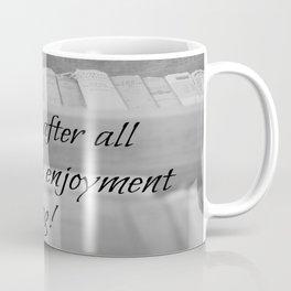 Jane Austen Reading Coffee Mug
