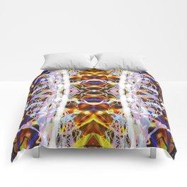 Light Dance Kaleidoscope edit 4 Comforters