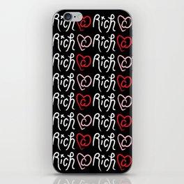 Ri¢h @ Heart iPhone Skin