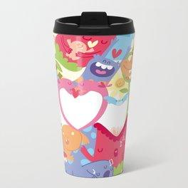 Monster Love Metal Travel Mug