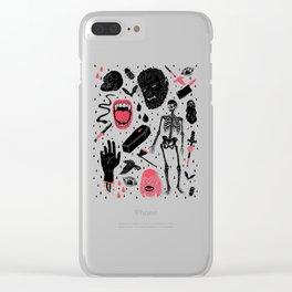 Whole Lotta Horror Clear iPhone Case