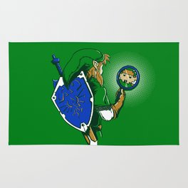 Link Too The Past Rug