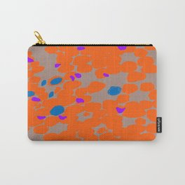 Orange Dot Carry-All Pouch
