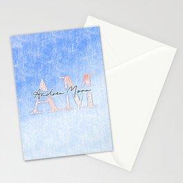 Andrea Mora Interior Sky Blue Passion Designer Custom Home Decorations Print Capsule # Stationery Cards