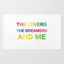The Lovers, The Dreamers, and Me Rug