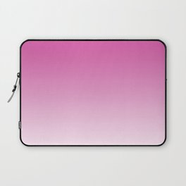 Simply girly pink color gradient - Mix and Match with Simplicity of Life Laptop Sleeve