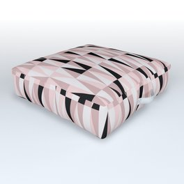 pink twenty Outdoor Floor Cushion