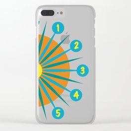 Mod Clock 3 Clear iPhone Case