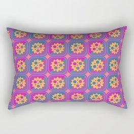 Gearwheels pattern Rectangular Pillow
