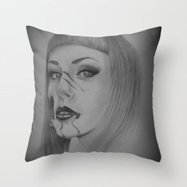 Devines zombies #4 Throw Pillow