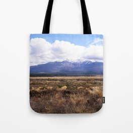 Mount Ruapehu Tote Bag