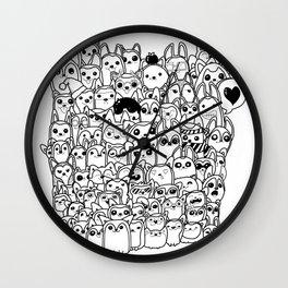 Huskies! Wall Clock