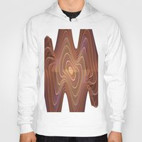 minerals Hoodies featuring Dancing Lines by thea walstra
