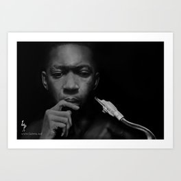JohnColtrane Art Print