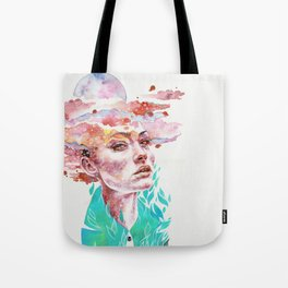 I Came to Earth to Haunt You Tote Bag