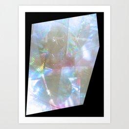 prism reflection Art Print