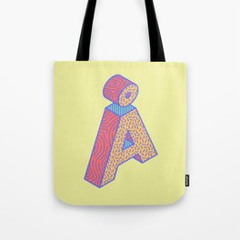 Typography series #Å Tote Bag