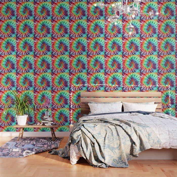 Tie Dye Hippie Wallpaper