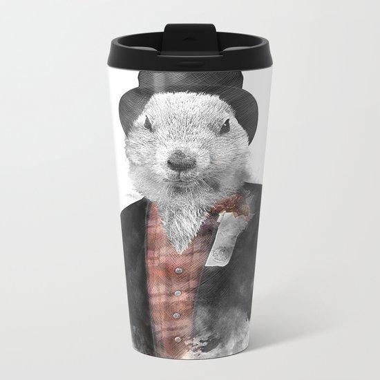 Mr. Phil Metal Travel Mug