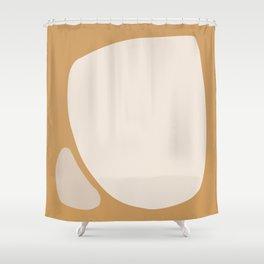 Abstract Shape Series - Neighbors Shower Curtain