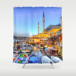 Picturesque Istanbul Shower Curtain