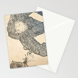The ring of the Hesitate.(Color) Stationery Cards