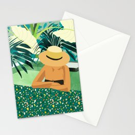 Chill #illustration #travel Stationery Cards