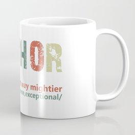 fathor like dad just way mightier fathers day thor Coffee Mug