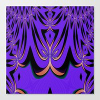 aliens Canvas Prints featuring Aliens... by Cherie DeBevoise
