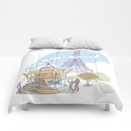 La Vie Paris Comforters