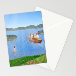 Oslo Fjord Panorama Stationery Cards